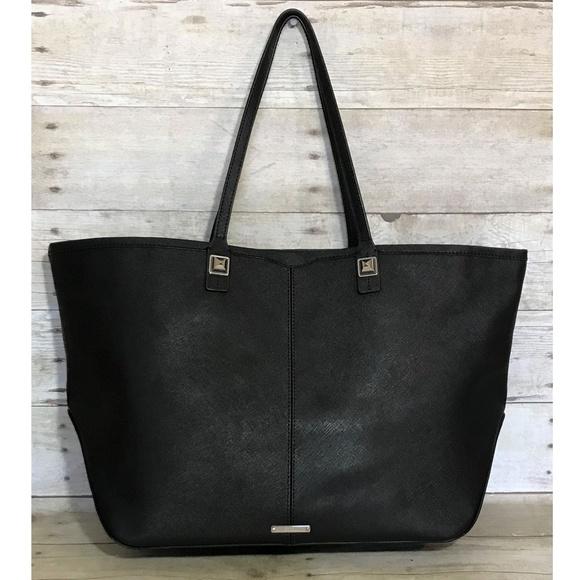 Rebecca Minkoff Handbags - Rebecca Minkoff Black XL Leather Tote Bag Purse